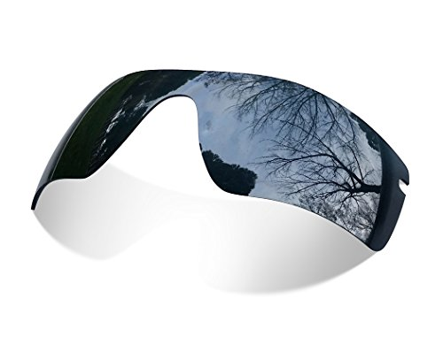 sunglasses restorer Kompatibel Ersatzgläser für Oakley Radarlock OO9181 | Polarisierte Black Iridium Linsen