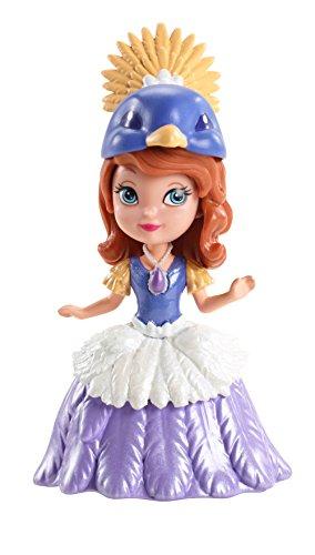 Mattel CCV66 - Disney - Sofia die Erste - 9 cm Spielfigur - Prinzessin Sofia im Kostüm [UK Import]
