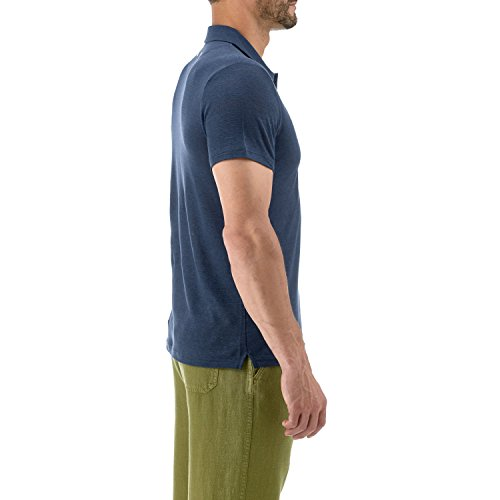 Vilebrequin - Solid-Polohemd aus Frottee - Herren Marineblau