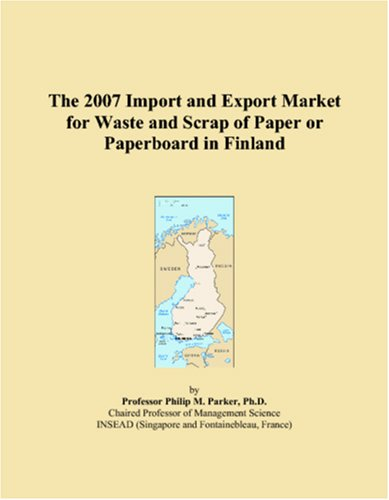 The 2007 Import and Export Market for Waste and Scrap of Paper or Paperboard in Finland