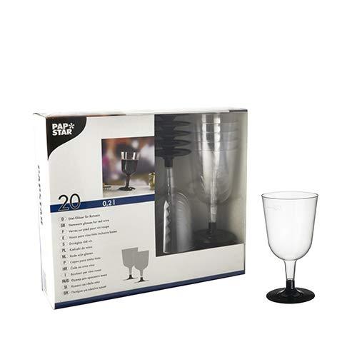 Papstar wijnglas 0,2 l Rode Wijn/pak 20 Cup/Mug - Cups & Mugs