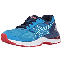 Asics Unisex-Child Gel-Nimbus® 19 GS Shoes, 13 UK, Diva Blue/White/Indigo Blue