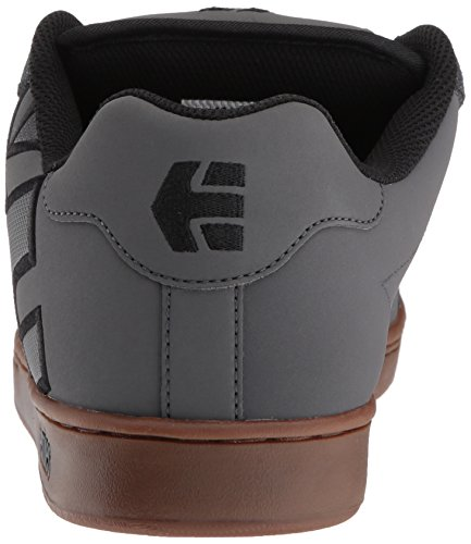 Etnies FADER Herren Skateboardschuhe Grau (Dark Grey/Black/Gold)