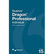 Dragon Professional Individual 15  - Upgrade from Professional 12, 13 or DPI 14 [PC Download]