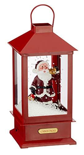 Preis am Stiel Schneelaterne ''Santa'' | Xmas | Santa Claus | Christmas | Nikolaus | Advent | Weihnachten | Laterne | Geschenkidee | Weihnachtsmann