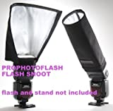 #6: SUPER Universal Foldable Snoot Flash Beam Cloth Softbox Diffuser Tube for Canon Nikon