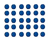 30x Magnete Blau Ø 24mm