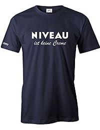 NIVEAU IST KEINE CREME - HERREN - T-SHIRT