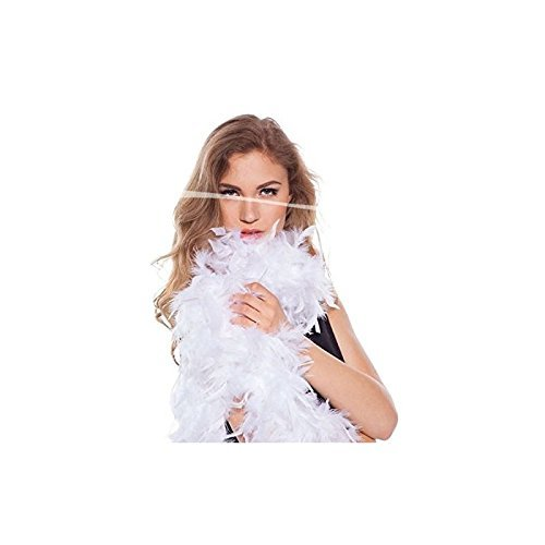 Boa de plumes blanc 180cm 8714572620826