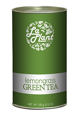 Laplant - The Green Tea Company Lemongrass Green Tea - 100 G
