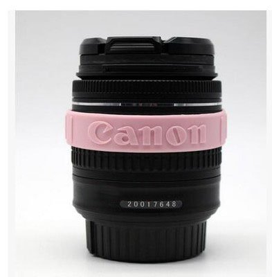 Focus Gummi Circle Ring Silikon Armband Armbänder Schutz für Canon 5D35D25D46D 7D 60D Kamera Objektiv Filter Anti-Rutsch Rose