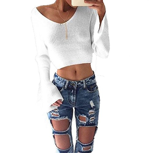 internet-womens-casual-long-sleeve-jumper-sweaters-coat-blouse-m-white