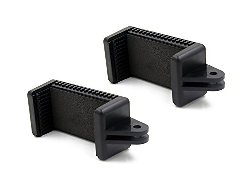 Octo Reittiere | 2Stück Universal Smartphone Halter w/GoPro Stil Halterung Befestigung für jedes Handy. Connect Ihrem Handy zu Jedem GoPro Mount. -
