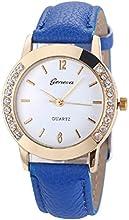 Relojes Pulsera Mujer,Xinan Cuero del Diamante Analógico Relojes de Cuarzo