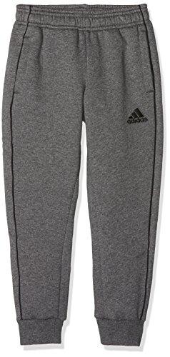 adidas Kinder CORE18 SW Pants, grau (dark grey heather/Black), Size 164