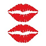 Lèvres Autocollant Réfrigérateur Heureux Délicieux Cuisine Mur Réfrigérateur...