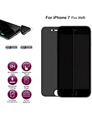Culater® Anti-Spy Privacy Tempered Glass Screen Protector Film For Iphone 7 And Iphone 7 Plus (7 plus 5.5 inch)