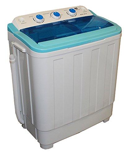 Mini Waschmaschine Waschautomat mit Schleuder Wäscheschleuder Toplader 4,6 Kg Wäschekapazität