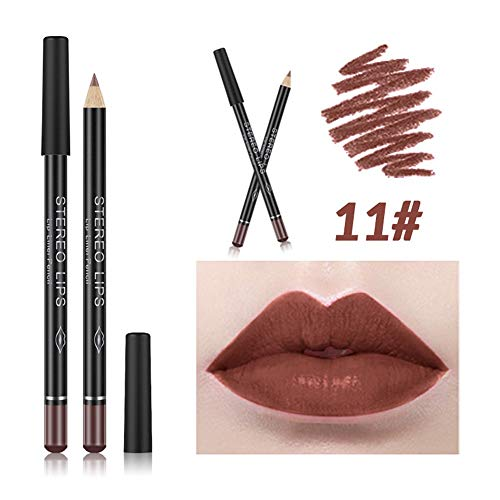 Dtuta Lippenstifte, Frau Wasserdicht Lippglosse Stereo-Mattlicht Und Einfach Mehrfarbig Aufzutragen