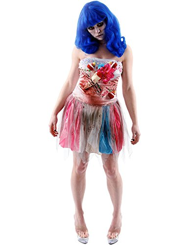 (Party King Zombie Candy Girl Women's Costume M)