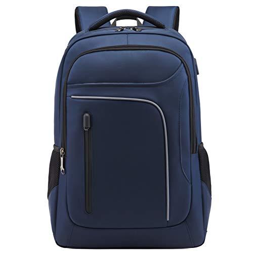 Asge Business Rucksack Herren Oxford-gewebe Wasserdicht Laptop Backpack Notebook Schulrucksack Casual Daypack Computer Rucksäcke mit USB Kopfhöreranschluss Großer Busineß Laptoprucksack für 15-17 Zoll Sony 14-laptops