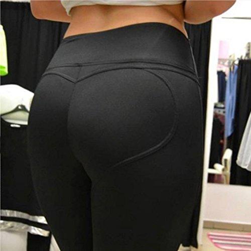 kolyDonne-Hollow-Leggings-Yoga-Fitness-Corsa-pantaloni-stretch-Sport