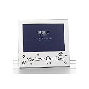 """We Love Our Dad Picture Photo Frame 5"""" x 3.5"""""""