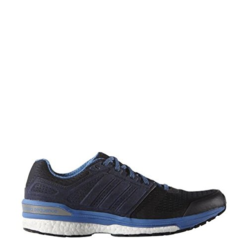 adidas Supernova Sequence Boost 8, Chaussures de Running Compétition Femme, Gris Azul / Morado / Azul (Maosno / Mornat / Supazu)