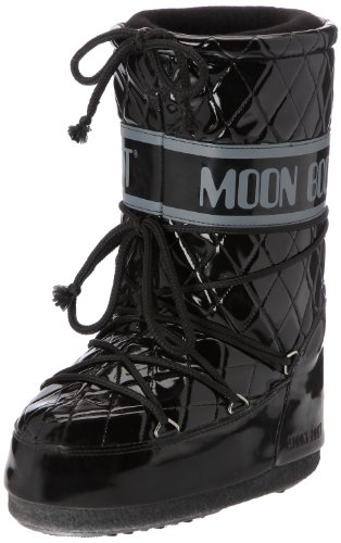 Moon Boot Queen, Stivali, Ragazza, Nero Vern., 31/34