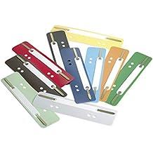 Durable 690100 Heftstreifen Flexi, 1 Packung à 250 Stück farbig sortiert
