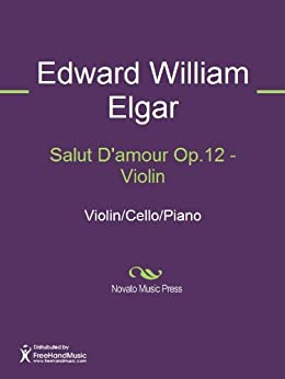 Salut D'amour Op.12 - Violin (English Edition)