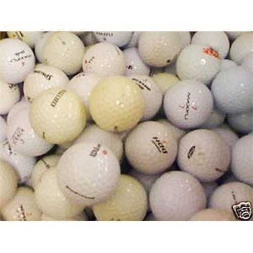 50 gebrauchte Golfbälle (Lakeballs, Markenbälle)
