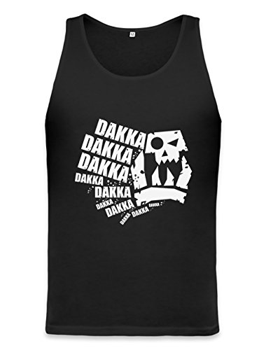 Bekleidung Herren Asu (Dakka Dakka Dakka Unisex Tank Top XX-Large)