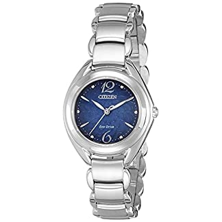 Citizen Analog Blue Dial Women's Watch-FE2070-50L