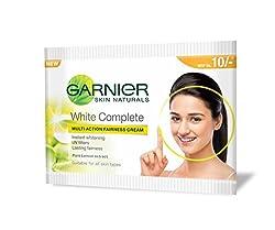 Garnier Skin Naturals White Complete Multi Action Fairness Cream, 6g