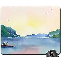 Lugar tranquilo F Mouse Pad, Mousepad (Lakes Mouse Pad)