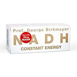 Prof. George Birkmayer NADH – Constant Energy (60 Tabletten, 20 mg NADH / Coenzym 1 pro Tablette)