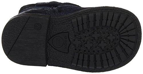 Geox B Glimmer A, Chaussures Marche Bébé Fille Blau (Dk NAVYC4021)