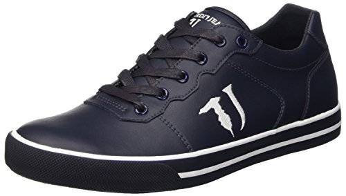 Trussardi Jeans 77S213A51, Scarpe Low-Top Uomo, Blu (Dark Blue), 41 EU