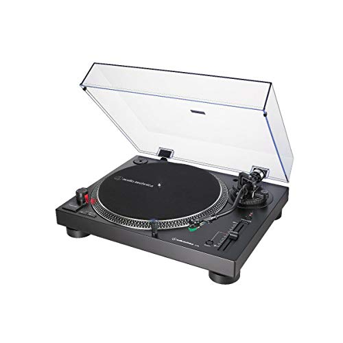 Audio-Technica LP120XUSB PLATINE VINYLE À ENTRAÎNEMENT DIRECT (ANALOGUE & USB) - Noir