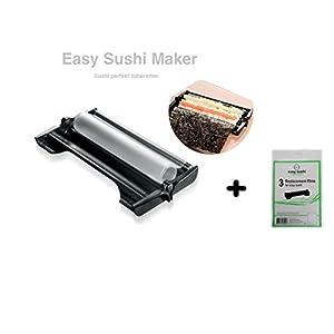 Easy Sushi Maker Sushiroller Ø 3,5 cm + 3er-Set Ersatzfolien Gratis