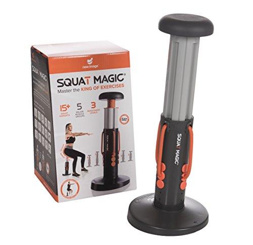 Nouvelle Image pour femme Bas du corps et Core entraînement Magic crapaud machine d'exercice, gris