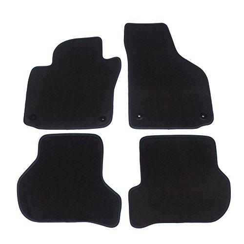 Pro Auto Tappetini Per Auto X3BM250–3di 2–3Original Qualità velluto con la fissazione 100% in 4pezzi, nero, set of 4
