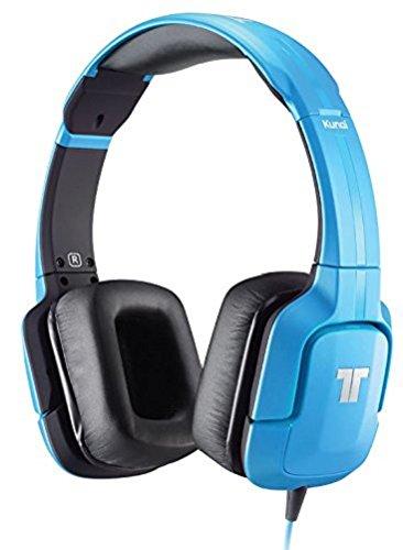 Tritton Kunai - Auriculares de diadema cerrados (con micrófono), azul