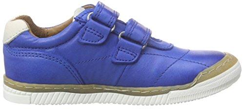 Bisgaard Unisex-Kinder Velcro Shoes Low-Top Blau (26 Cobalt)