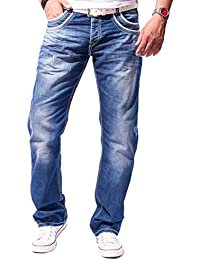 CIPO & BAXX Herren Jeans Clubwear Straight-Cut