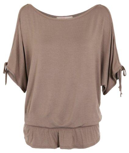 3895-mocha-16-split-sleeve-kimono-jersey-tunic-top