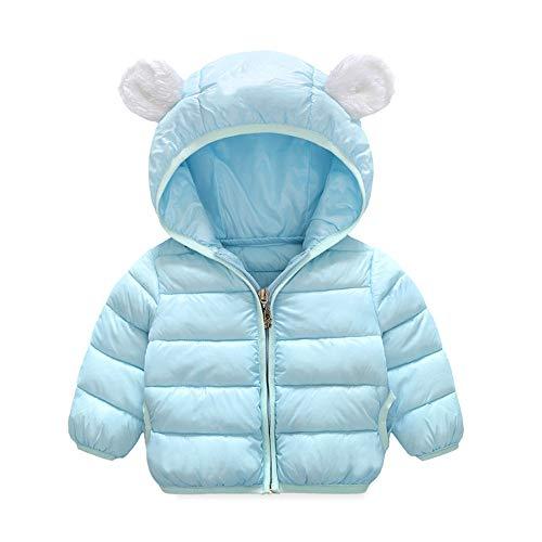 CUTUDE Baby Jungen Mädchen Kinder Kleinkind Ohren Kapuzenpullover Dick Mantel Kleidung Winter Warm Jacke Daunenjacke Winterjacke (Gold Mädchen Winter Mantel)