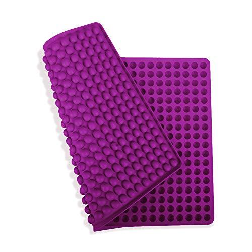 ZOOYAUE Silikon Backmatte mit 1.1 cm Halbkugel Backpapier Backunterlage Backform Hundekekse Hundeleckerlies BPA-frei Hitzebeständig 230°C antihaftbeschichtet und spülmaschinenfest 40x28.5cm