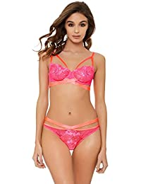 94b56389d Ann Summers Womens Paradise Passion Balcony Bra Lace Sexy Lingerie Underwear